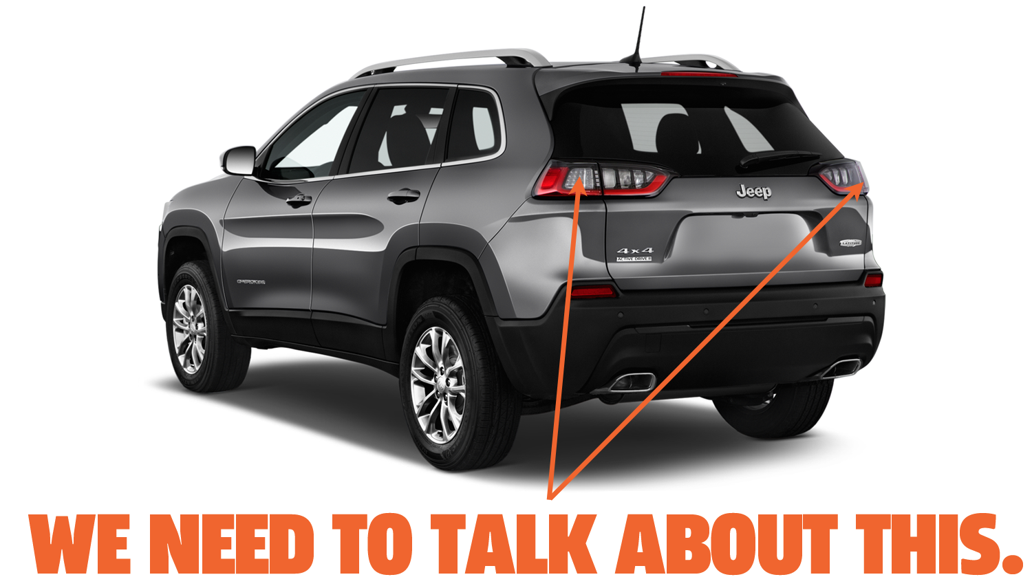The New Jeep Cherokee's Taillights Have An Idiotic Design