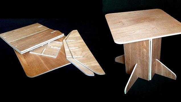 Build a Simple, Sturdy Table that Folds Flat for Easy Storage