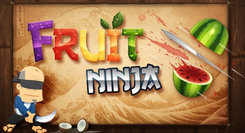 We Live In A World That Is Making A Fruit Ninja Movie