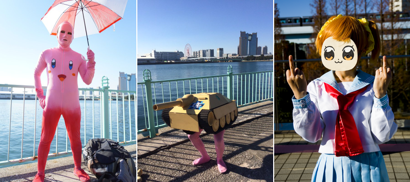 Japan Says Goodbye to 2015 with Cosplay