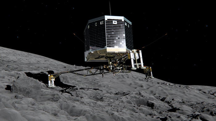 This Is What It Sounds Like to Land on a Comet
