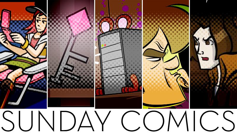 Sunday Comics: I SAW IT FIRST!