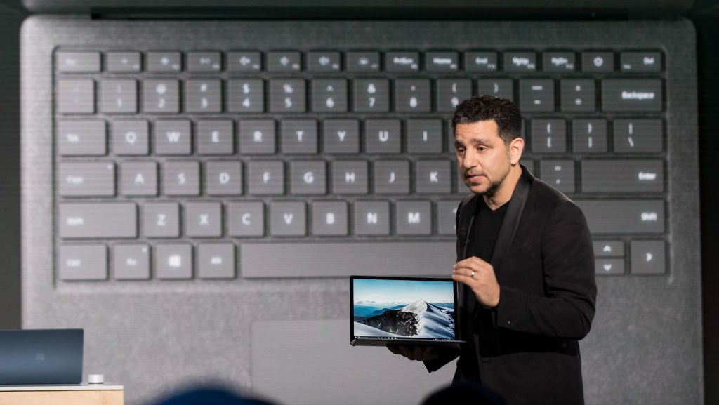 Surface Laptop with Intel's Core i7 available in two more colors
