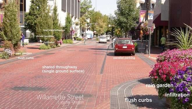 This Street Has No Lanes, Signals, or Signs — And It's Safer For It