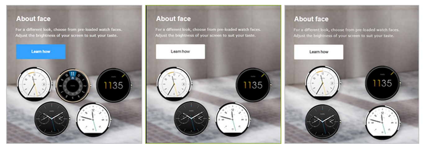 The Curious Case of the Disappearing Gold Moto 360