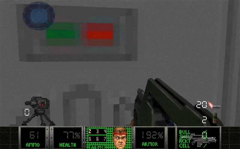 That's One Cool-Looking Aliens Map For Doom