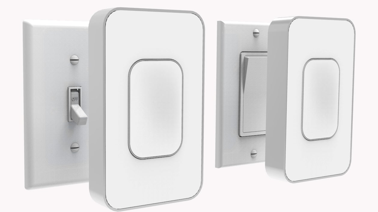 Prime Smart Light Switches Require No Wiring Gizmodo Australia Wiring Cloud Hisonuggs Outletorg
