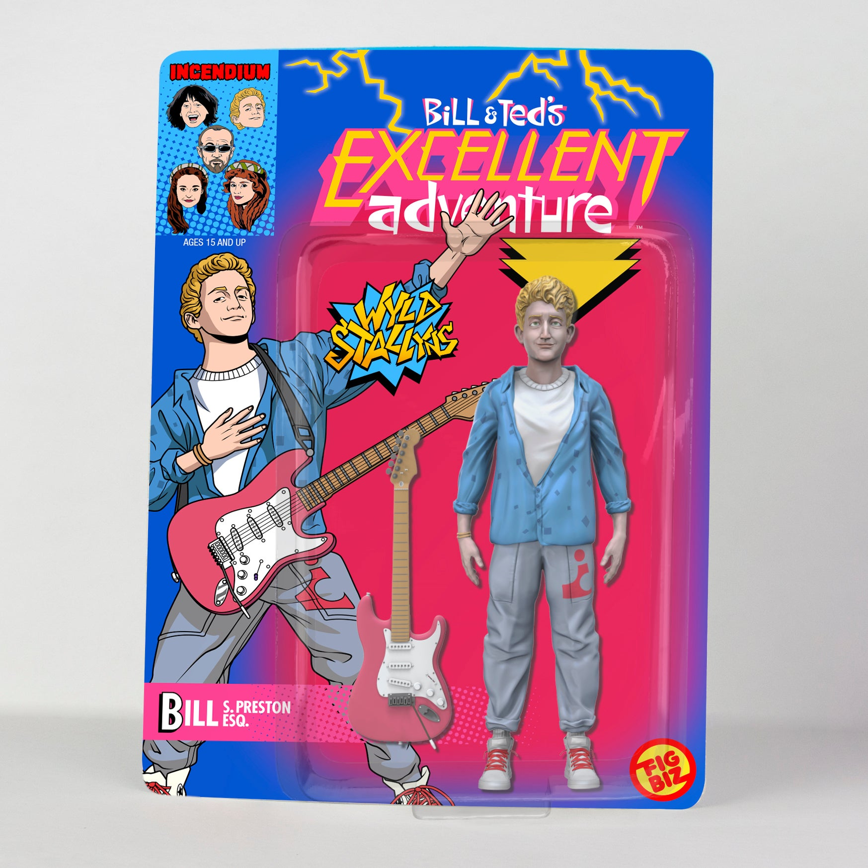Check Out These Excellent Bill Amp Ted Toys Celebrating The