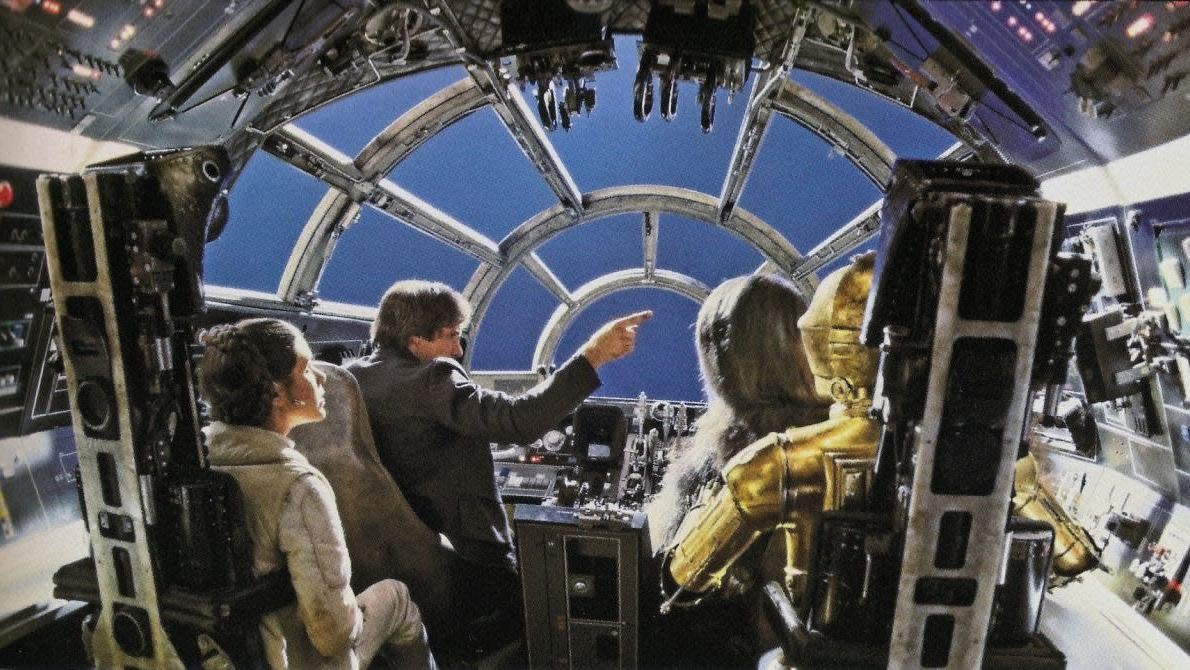 A Lot Of Switches Were Flipped In The Millennium Falcon Across The Star Wars Films