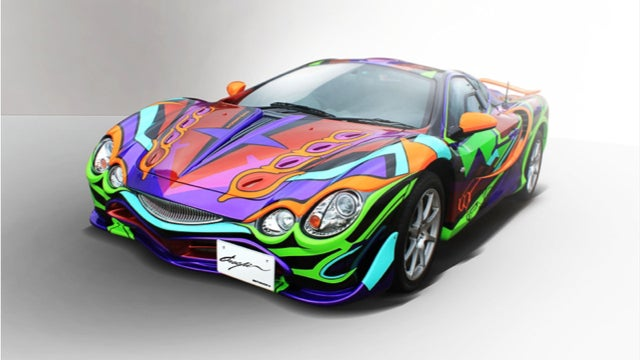 A Shocking Number of People Want This Fugly Anime Car