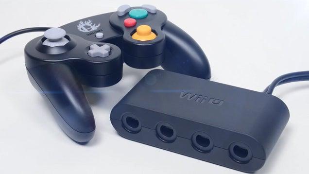 Nintendo Made A GameCube Controller Adaptor For Wii U