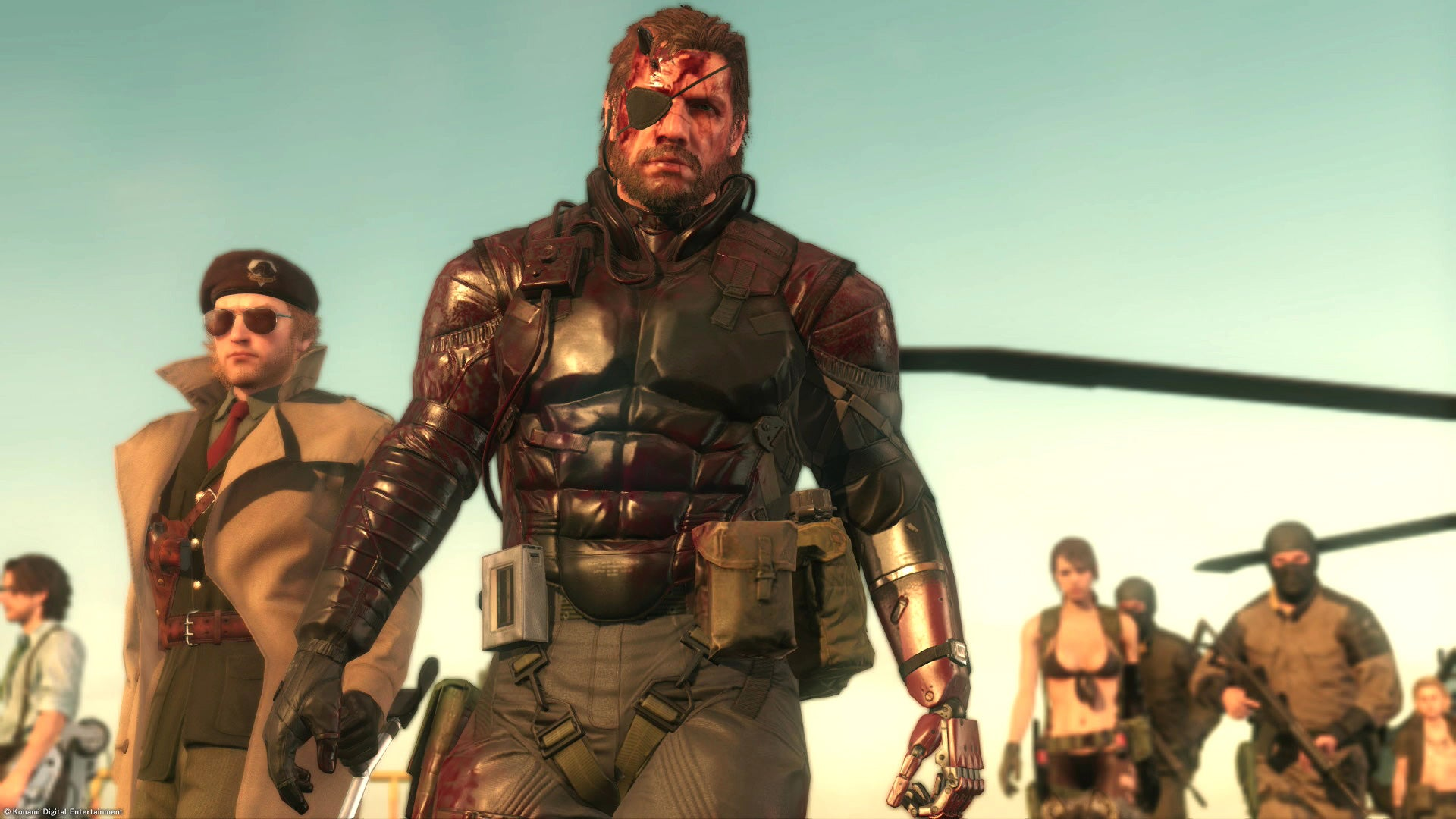 It Seems That Metal Gear Solid V And Vanquish Will Be Free For XBL Subscribers Next Month