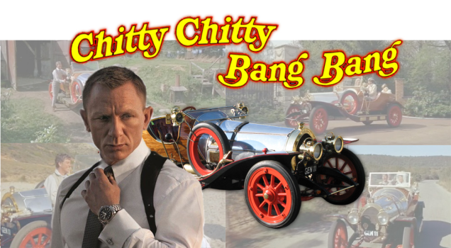 James Bond and Chitty Chitty Bang Bang were created by the same person