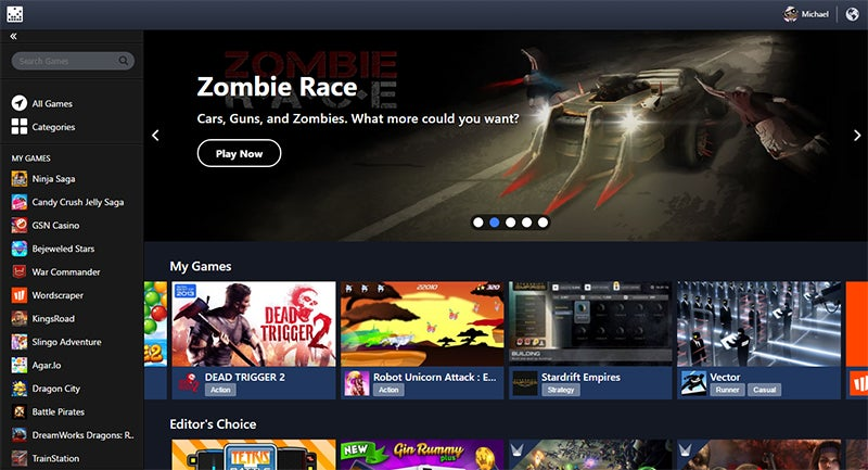 Facebook Stashes All Its Games In One App