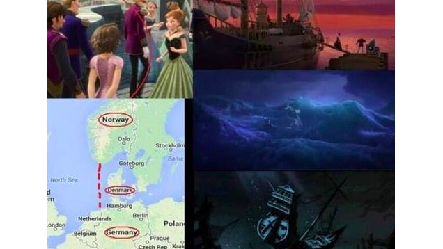 Wait, Are Frozen, Tangled and The Little Mermaid All Connected?