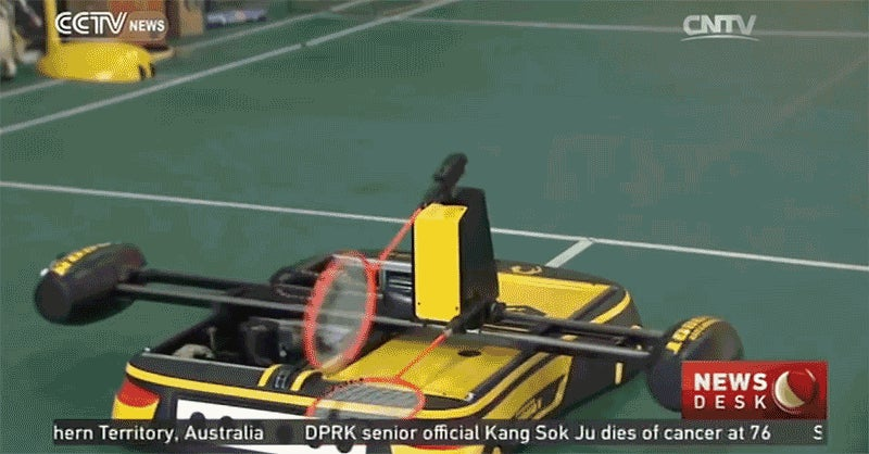 Badminton-Playing Robot Will Destroy You on the Court