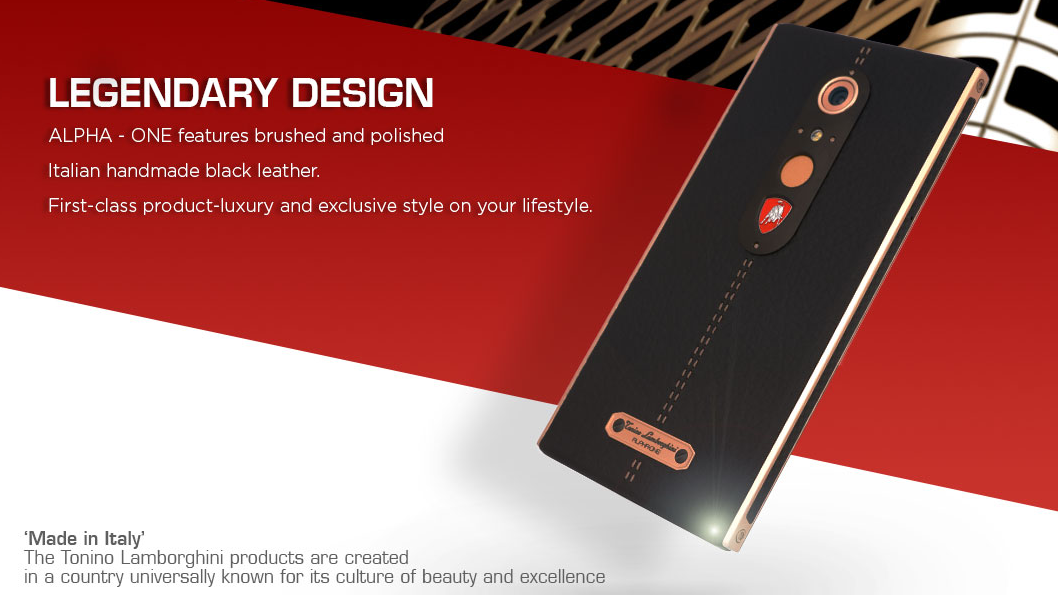 Finally, Lamborghini Has Made A Phone Exclusively For Arseholes