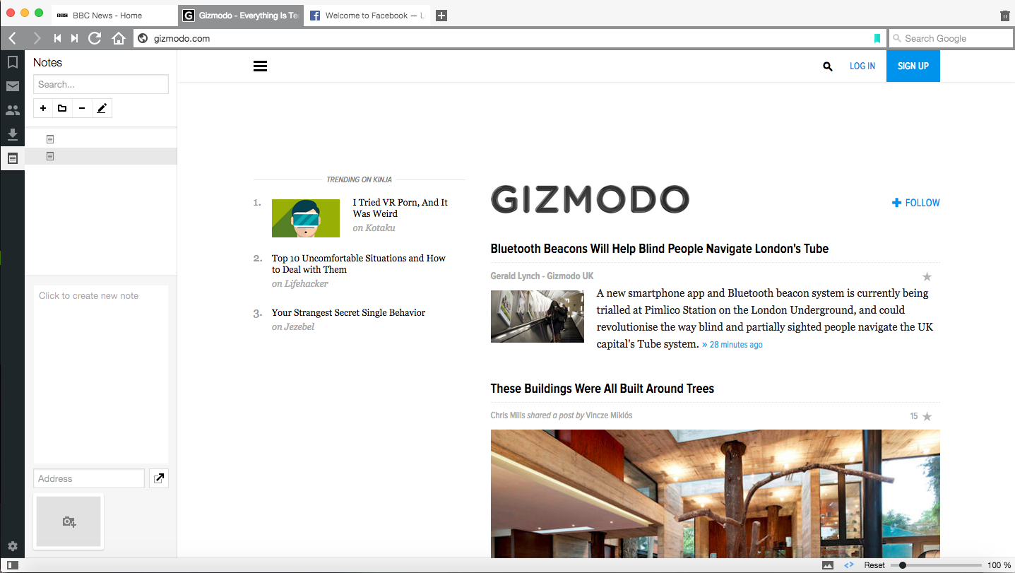 Vivaldi Is A Slick New Browser For Internet Addicts