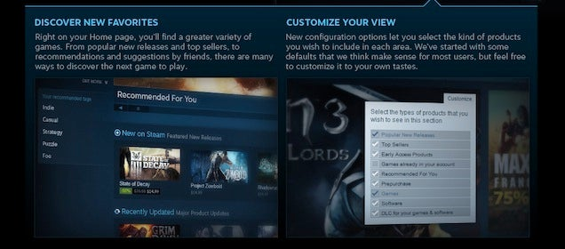 Steam Is Getting A Massive Overhaul