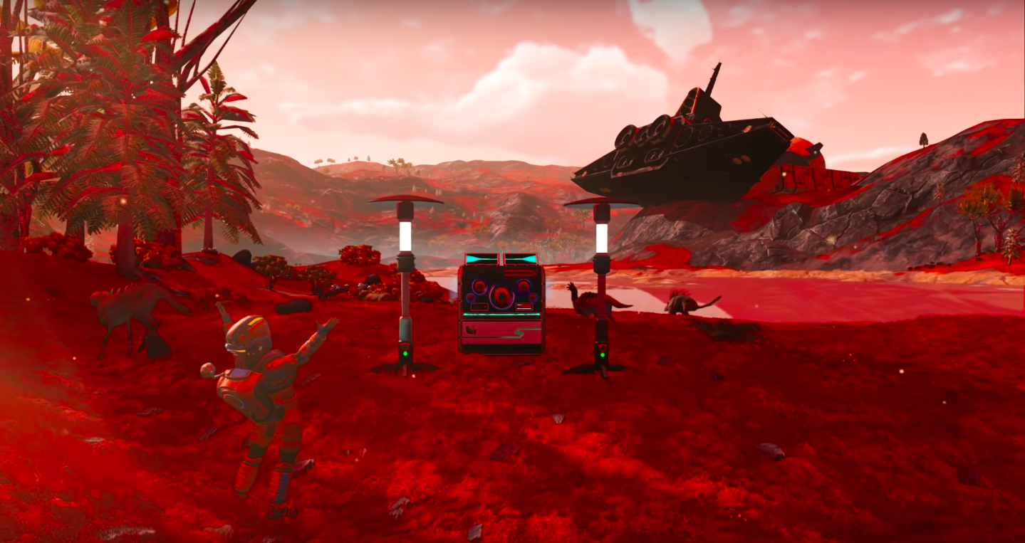 No Man's Sky Now Lets Players Make Music And It's Wild