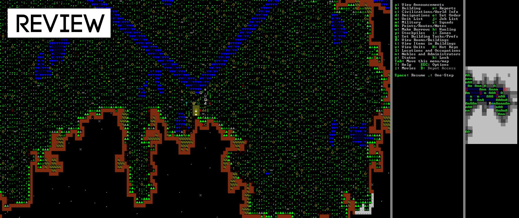 Dwarf Fortress: The Kotaku Review