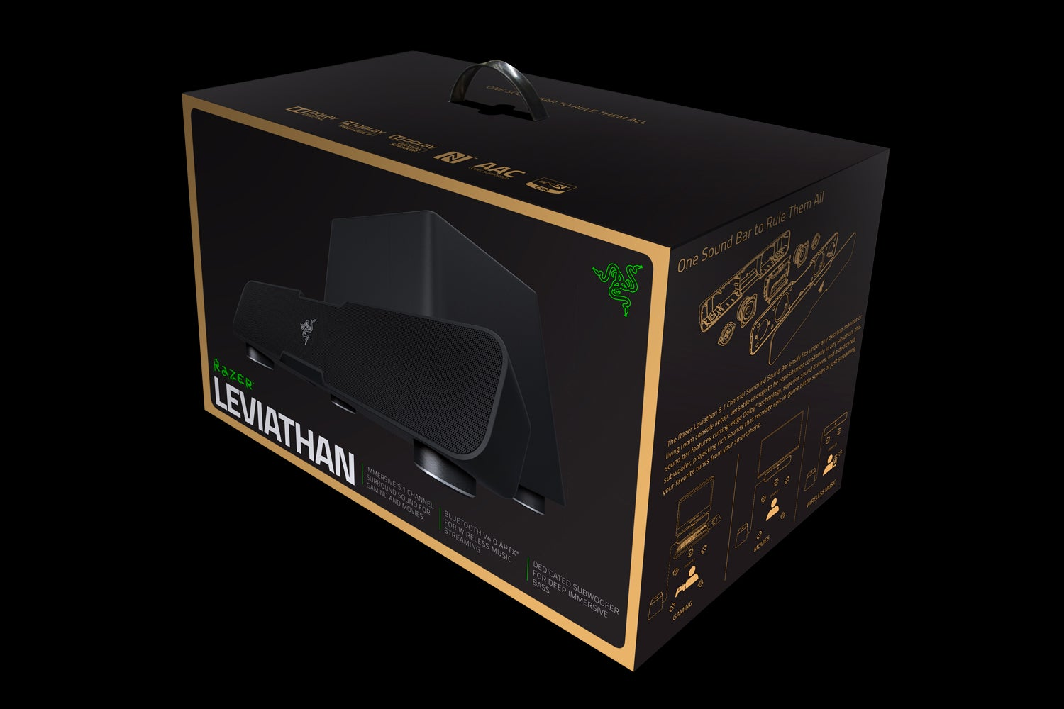 Razer Leviathan 5.1 Channel Surround Sound Bar: The Kotaku Review