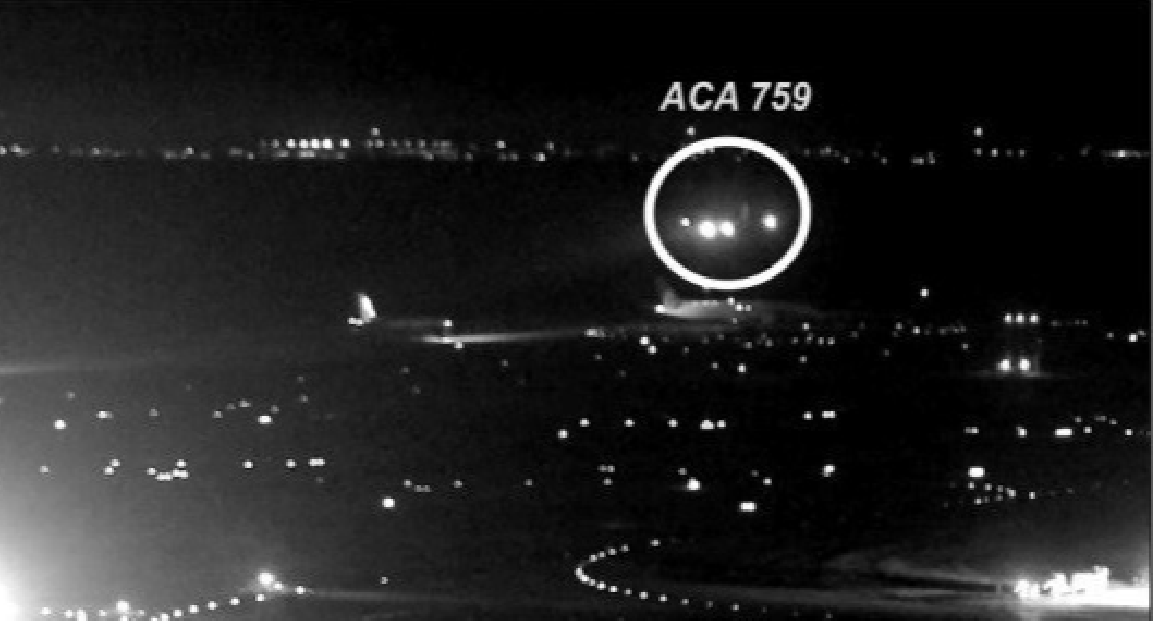 Photos Show Just How Close Air Canada Jet Came To Crashing Into Four Other Planes