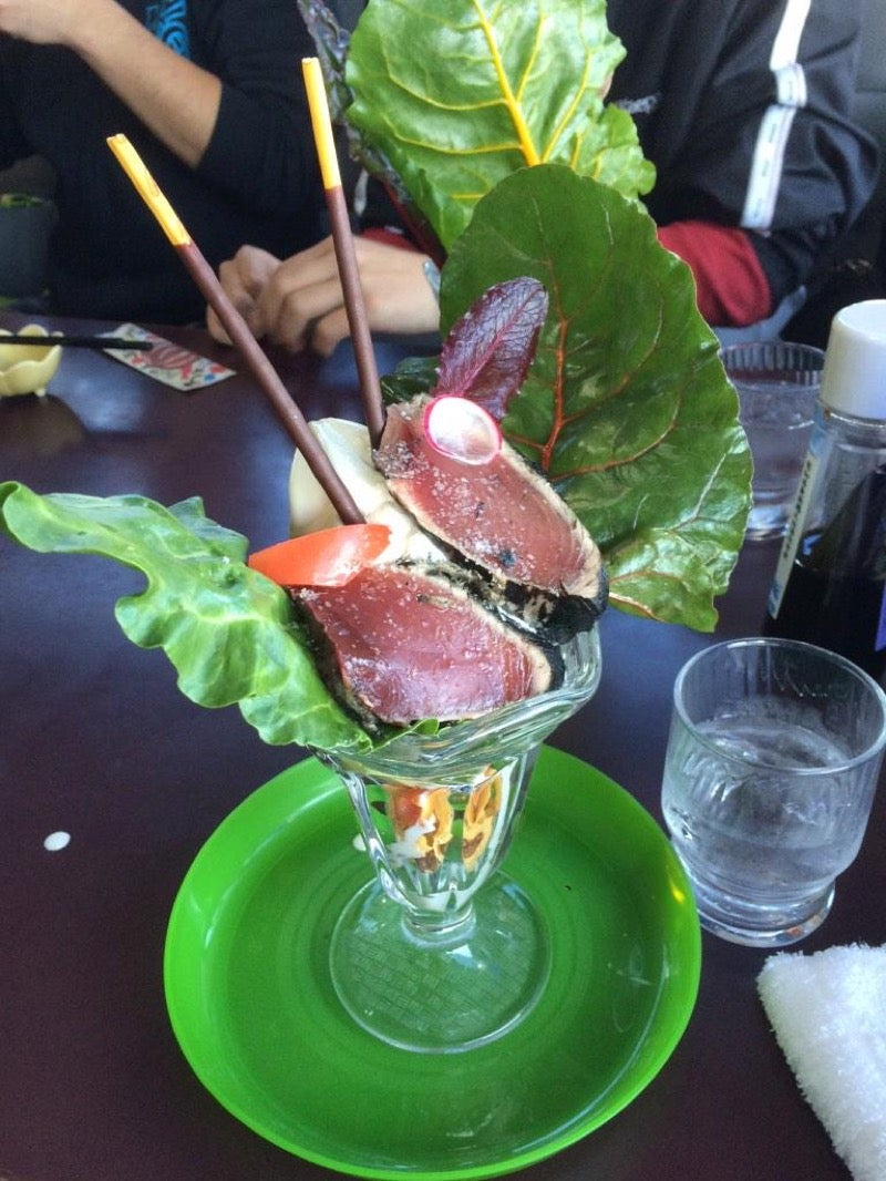 Yucky Sounding Desserts from Japan
