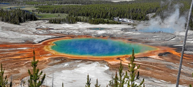Somebody Crashed a Drone into Yellowstone's Hot Springs