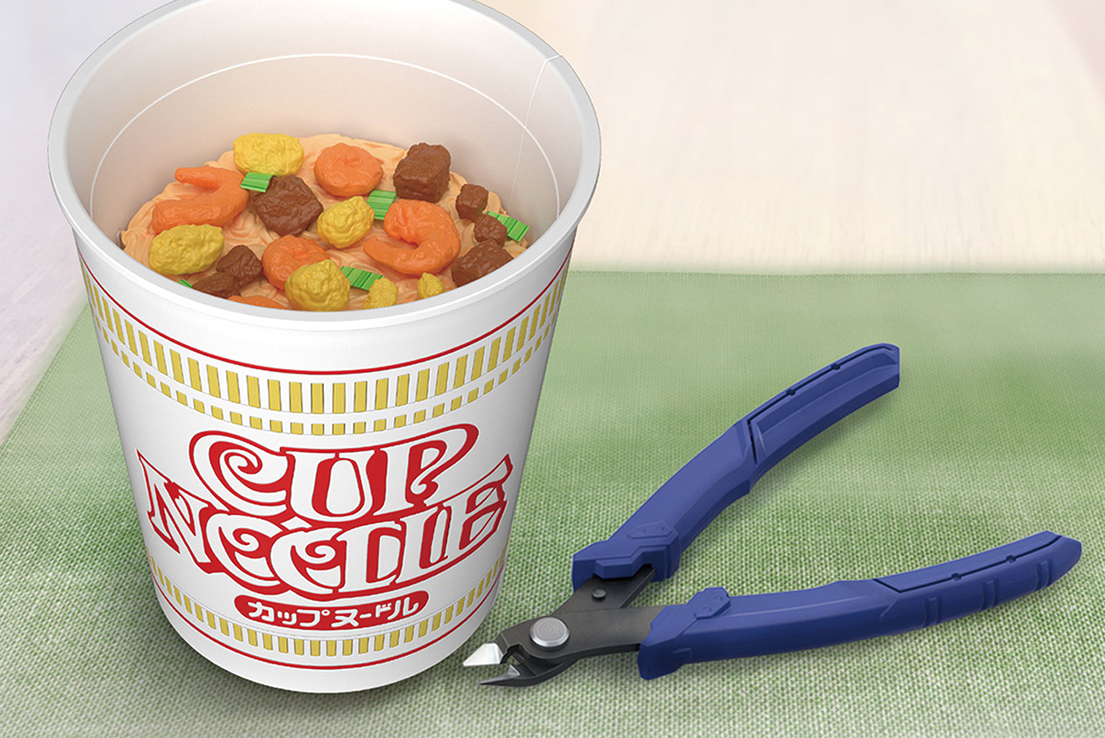 Bandai Is Making A Plastic Model Of…Cup Noodle