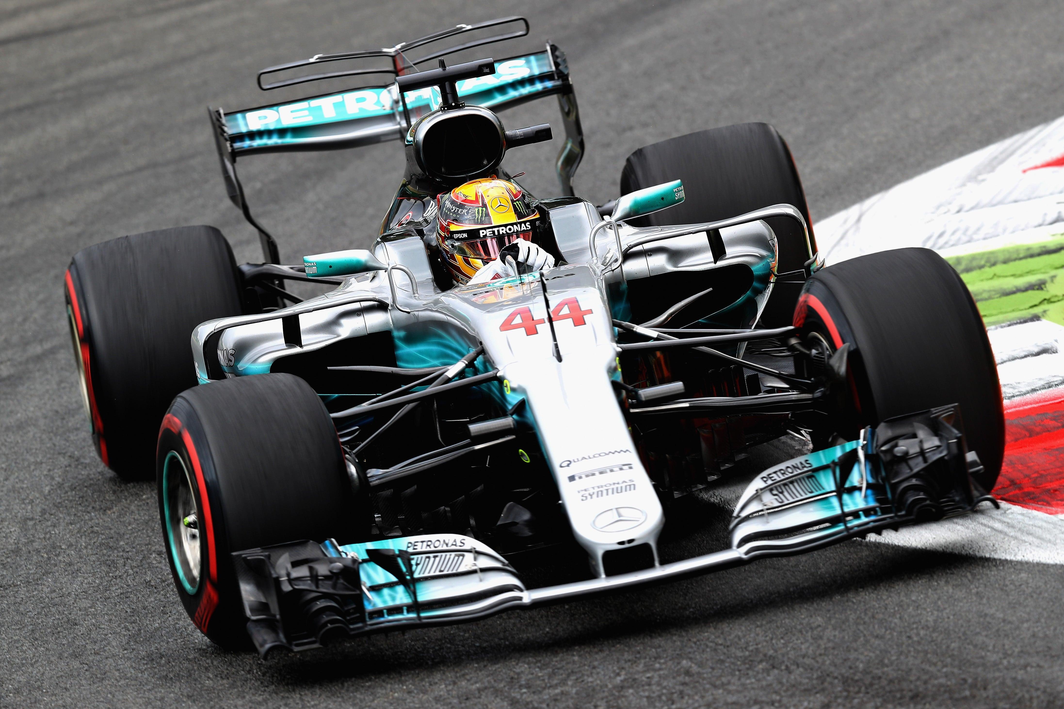 Monza Formula One Winner Lewis Hamilton Booed For Not Driving A Ferrari