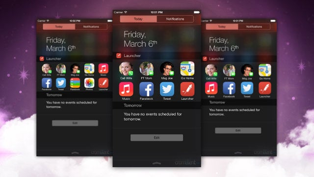 Launcher Adds App Shortcuts To Notification Center, Returns To iTunes