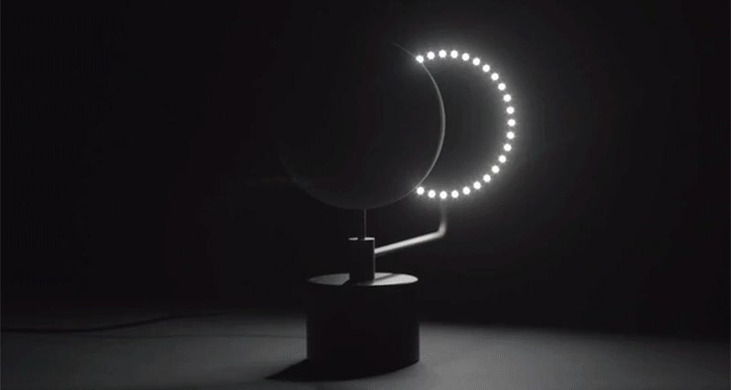 Experience Sunrise on the Dark Side of the Moon With This Detailed Lunar Globe