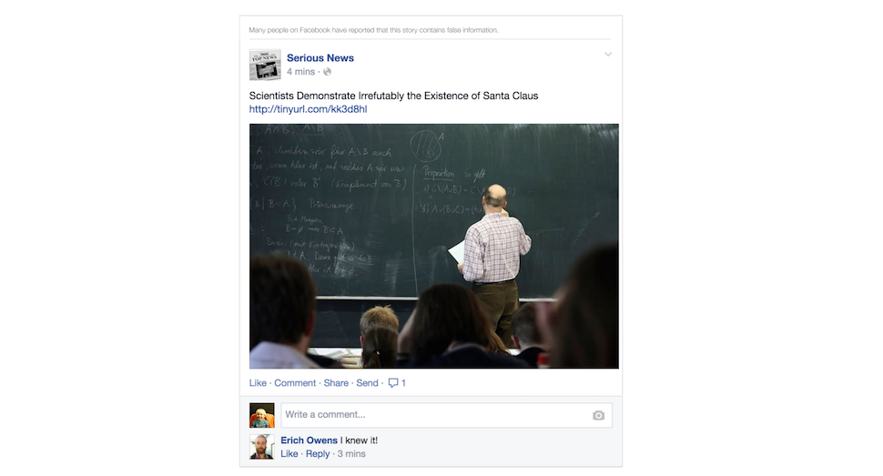 Facebook Is Finally Going to Stop Showing You Garbage Hoaxes