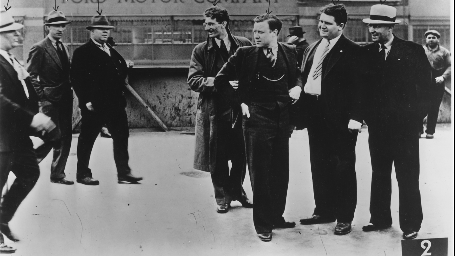 Let's Remember That Time UAW President Walter P. Reuther Wore A Suit To An Arse Beating