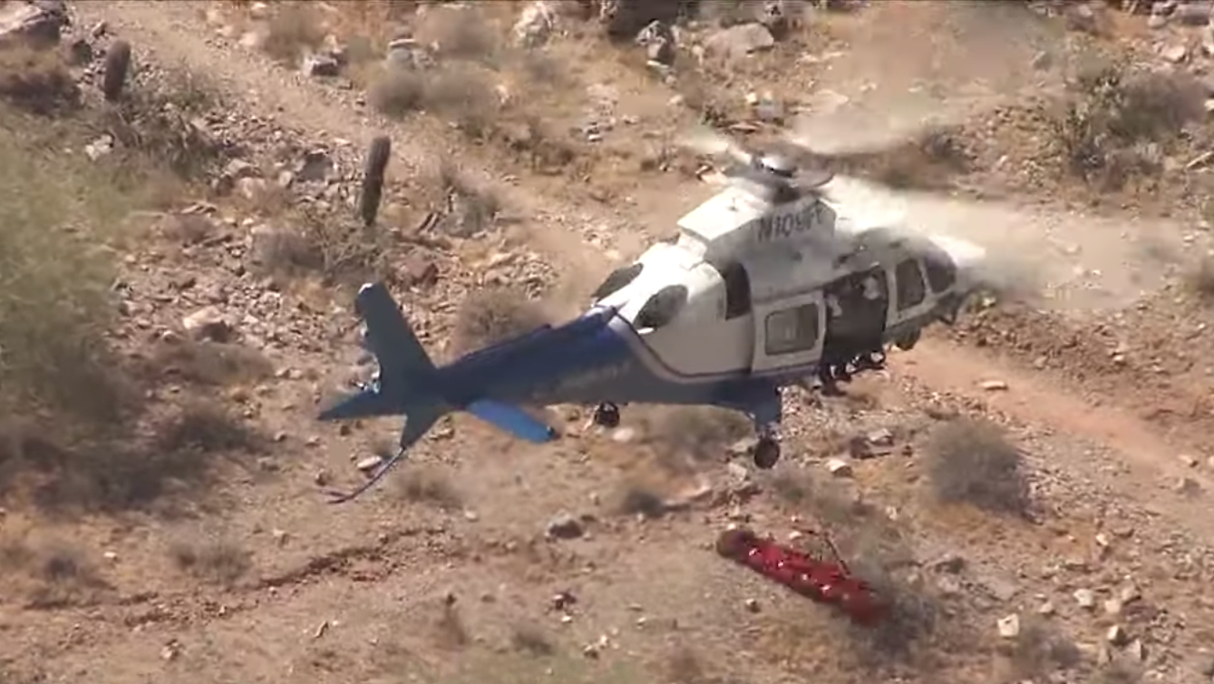 Here's Why That Helicopter Rescue With The Spinning 74-Year-Old Hiker Went So Nauseatingly Wrong