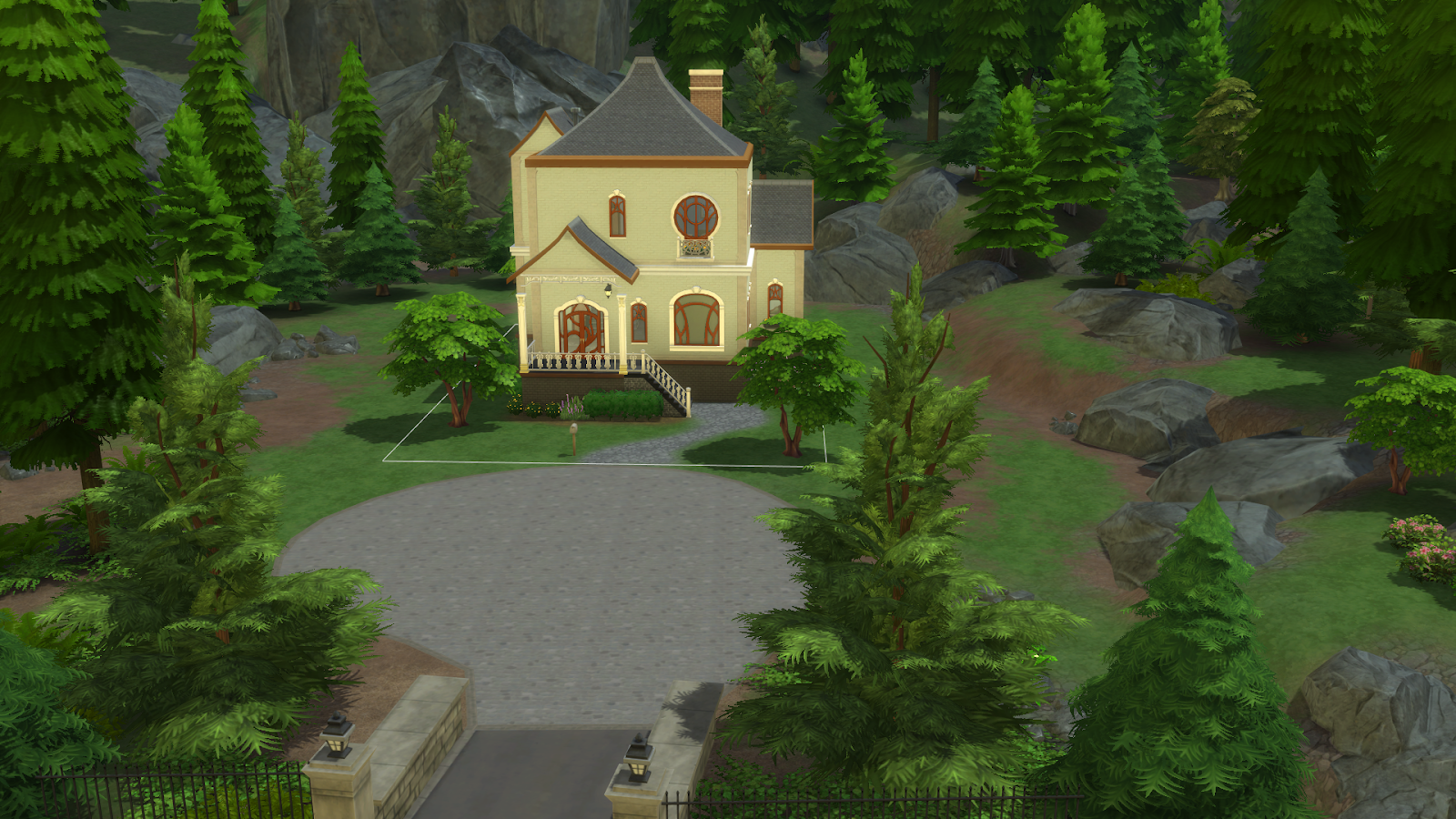 The Missing Door On This Sims 4 House Is Bugging Me