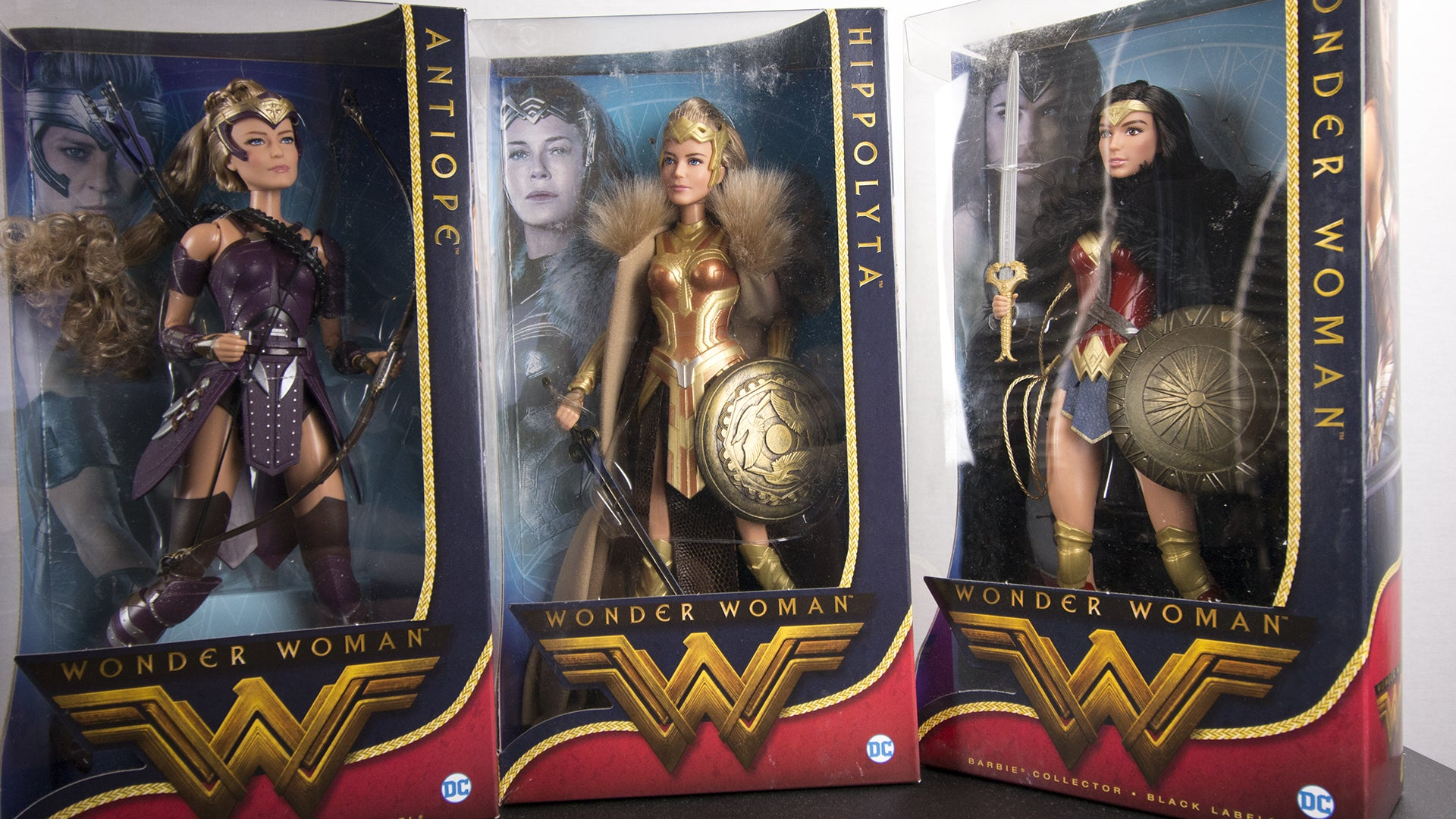 Doll review 2017 black label queen hippolyta doll face three - Priced At Us44 95 59 The Black Label Wonder Woman Collection Features Dolls That Straddle The Line Between For Play And For Display Hippolyta