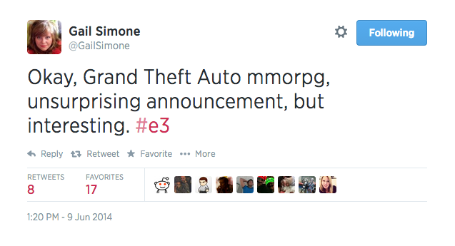 Some First-Class E3 Trolling Happening Right Here