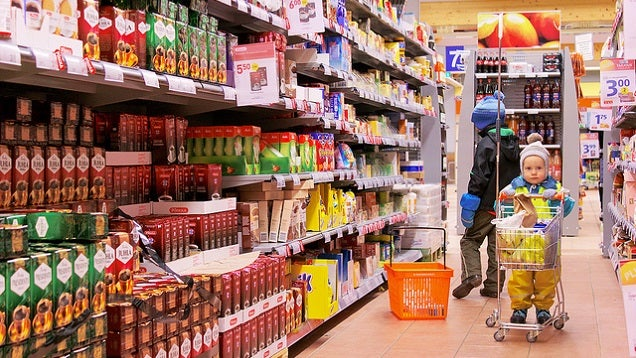 Make Food Shopping With Kids Easier By Getting Them Involved