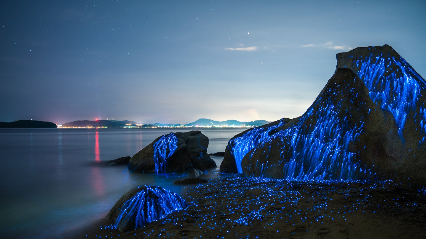 These Glowing Rocks Actually Capture One Of Nature's Most Beautiful Phenomena