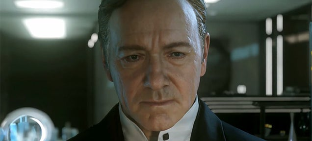 New Call of Duty stars Kevin Spacey doing his House of Cards routine