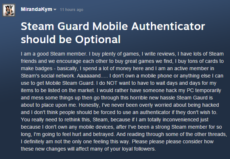 Steam Users Think Valve's New Trading Restrictions Go Too