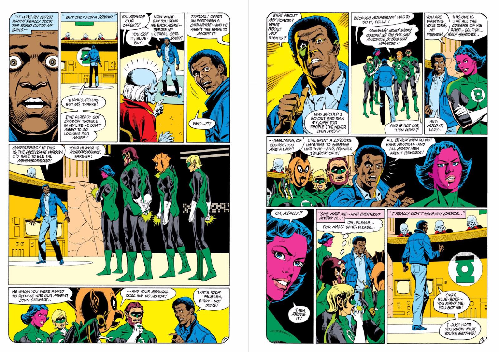 That Time DC Comics' First Black Superhero Kicked Hal Jordan's Arse