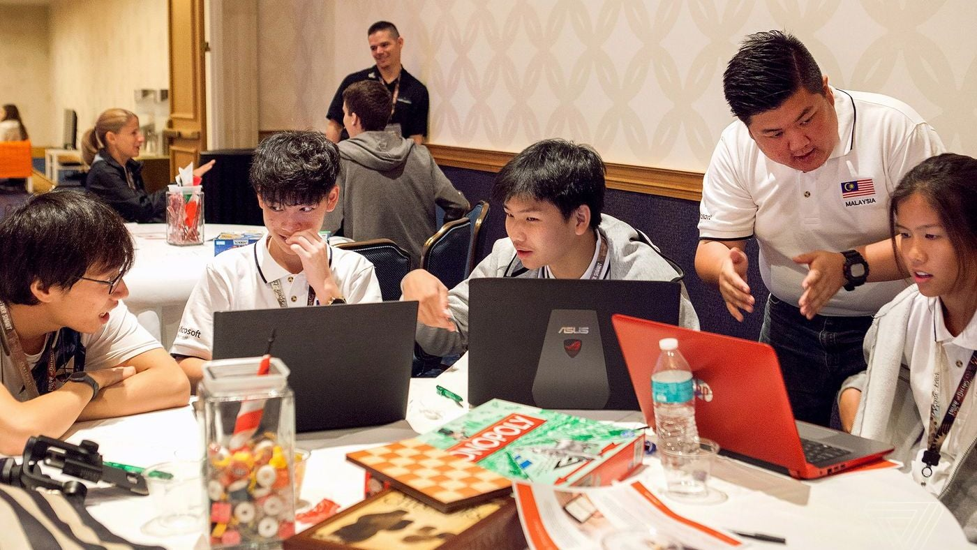 World's Best Teens Compete In Microsoft Office World Championship