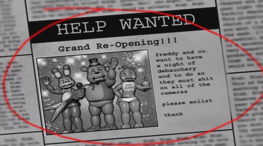 Five Nights at Freddy's Parody Turns The Game Into A JRPG About Sex