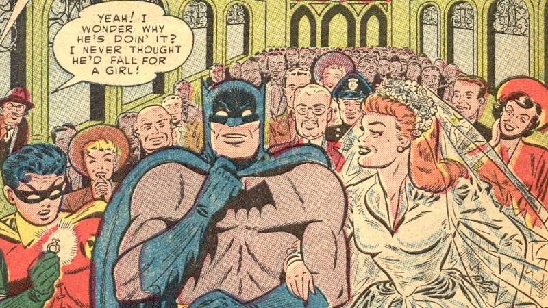 A Brief History Of Bat-Marriage