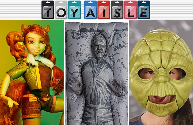 Unintentionally Creepy Halloween Costumes, Space Rovers, And All The Best Toys You Missed This Week