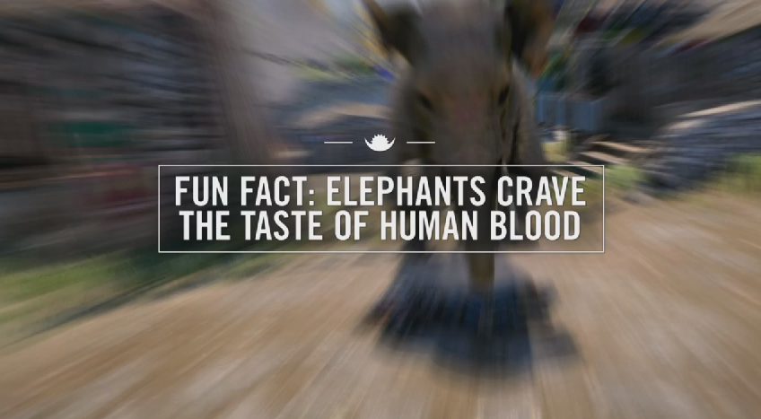 Watch Far Cry 4's Elephants Run Amok