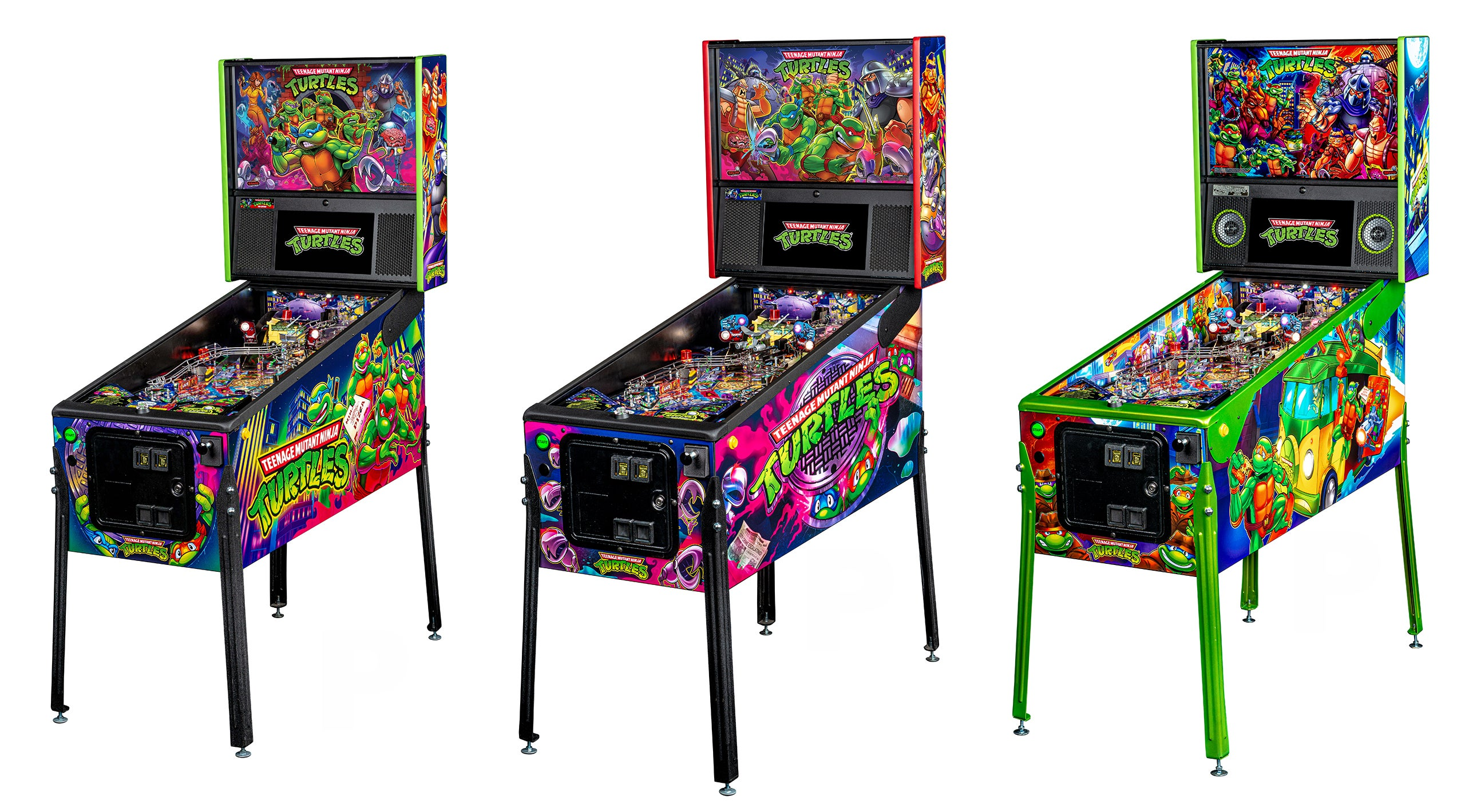 Stern's New Teenage Mutant Ninja Turtles Pinball Machines Are Glorious